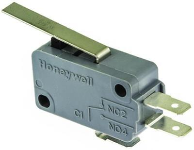1 x Honeywell Leaf Lever Microswitch, 16 Amp 250 Volt AC SPDT NO/NC
