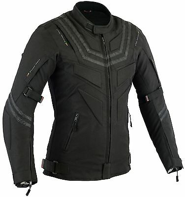 Tuck Mens Motorcycle Protection Jacket Motorbike Coat Top Waterproof CE