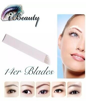 Microblading Nadeln 14er Blades Permanent Make-Up Handmethode Nadeln