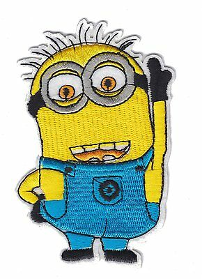 Minion Despicable Me (HQ) Iron on Sew on Fully Embroidered Patch