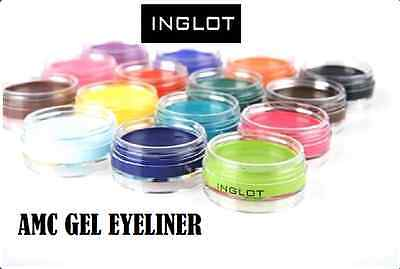 INGLOT AMC Gel Eyeliner MATTE Hypoallergenic Waterproof NO SMUDGES 100%Authentic