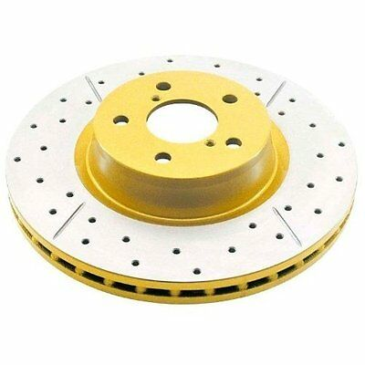 DBA (656x) Street Series Drilled and Slotted Disc Brake Rotor, Rear