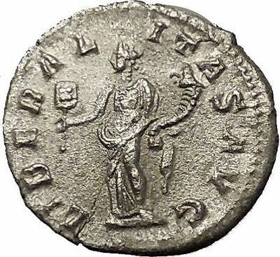 SEVERUS ALEXANDER Rome mint Silver Ancient Roman Coin Liberality Cult  i54267