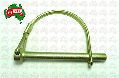 """1/4"""" 6 mm Shaft Locking Pin D Clip Lynch Linch Tractor Trailer Implement Caravan"""