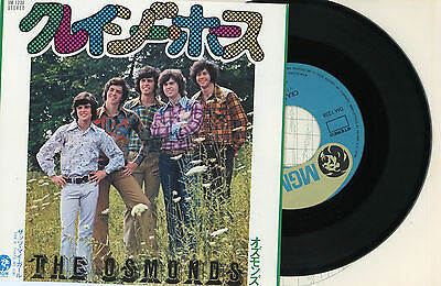 "THE OSMONDS 7"" PS Japan CRAZY HORSE x7179"