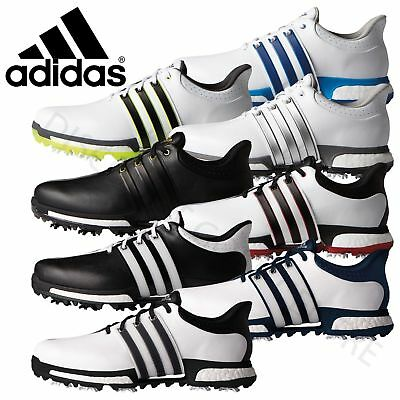 Adidas Tour 360 Boost Mens Waterproof Golf Shoes - Wide Fit