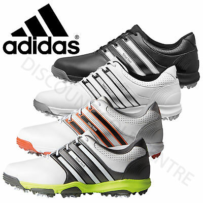 Adidas Tour 360 X Mens Waterproof Leather Golf Shoes - Wide Fit