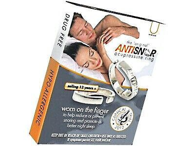 Antisnor Acupressure Therapeutic Ring LARGE ( helps reduce / prevent snoring