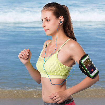 "Hugmie ® Sport Exercise Armband with Key Holder 4""- 5.5"" Touchscreen Compatible"