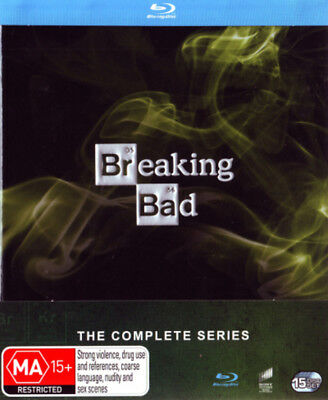 Breaking Bad - The Complete Collection Blu-ray Region B Brand New!!!