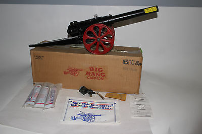 "Conestoga Big Bang Cannon, 24+"" Long, With Instructions & Original Box"