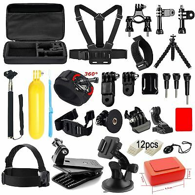 Soft Digits 42-in-1 Basic Common Outdoor Sports Kit Accessories for All Gopro...