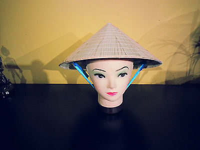 Vietnamese, Chinese, Rice, Bamboo Palm Leaf Hat Non La Kids Size