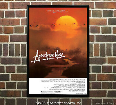 Apocalypse Now #2 Vintage Movie Poster Classic Film [6 sizes matte+glossy avail]