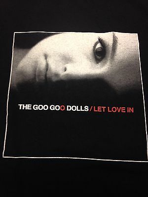 Goo Goo Dolls 2006 Let Love In Tour T-Shirt Rock Music Band