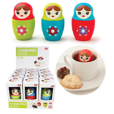 DCI Babushka Tea Infuser (Assorted Colors)