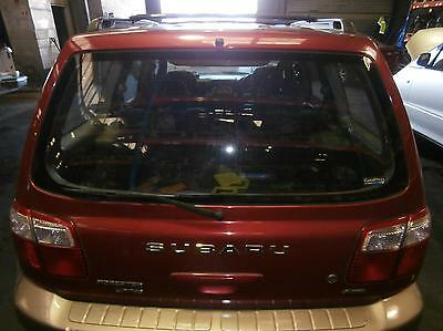 Subaru Forester Rear/tailgate Glass, Aust Type (Clear), 01/00-06/02