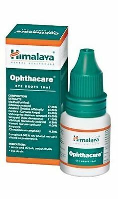 Opthacare / Ophthacare Eye Drops 10ml Himalaya Herbals For Optimal Eye Care