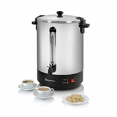 Signature 30 Litre Tea Urn / Water Boiler - Stainless Steel - S025 -  Brand New