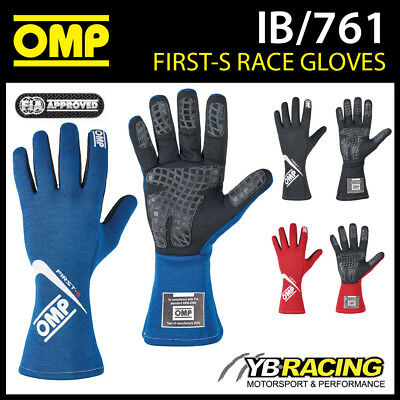 Sale! Ib/761 Omp First-S Gloves Fireproof Entry Level Racing Rally Gloves