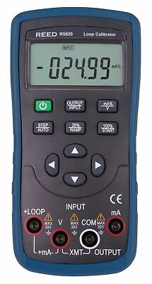 Reed R5820 Loop Calibrator 24V Loop Power, mA Sourcing, Simulation & Measurement