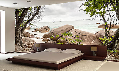 Seychelles-Nature Wall Mural Photo Wallpaper GIANT DECOR Paper Poster Free Paste