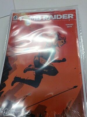 Tomb Raider #1 ComicsPRO Exclusive Variant Cover by Annie Wu