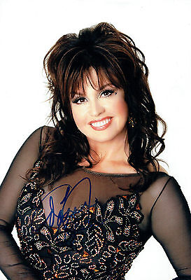 Marie OSMOND SIGNED Autograph 12x8 Photo AFTAL COA American Singer