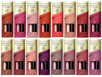 "Max Factor Lip Make-up Lipfinity ""Choose Your Shade"""