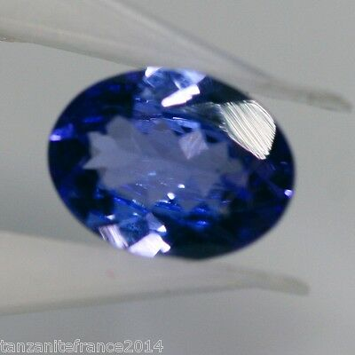 1,08 cts, TANZANITE NATURELLE TOP COLOR (pierres précieuses/ fines)