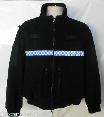 British Ex Police Fleece Jacket Security Walking Riding Theatre Film NOW REDUCED