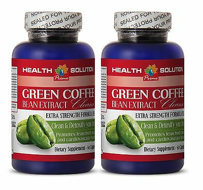 Super Antioxidant Green Coffee Bean Extract GREEN COFFEE EXTRACT CLEANSE 2 Bot