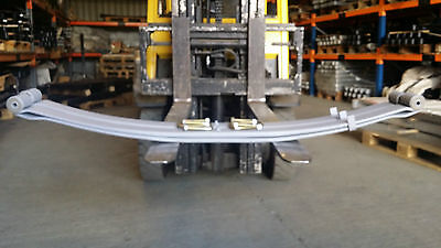 Iveco Daily 35 model Two leaf HD rear spring to 2006 (fits under axle) Pair