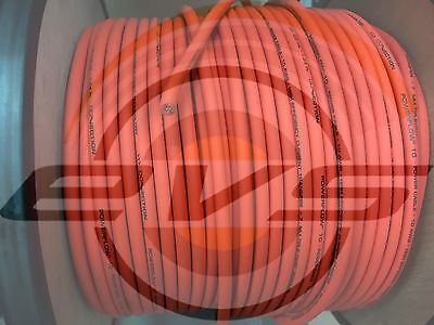 Connection By AUDISON Cavo alimentazione HiFi Car10 AWG PF 10 OR 4,27 mm² ORANGE