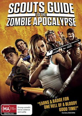 Scout's Guide To The Zombie Apocalypse DVD R4 Brand New!