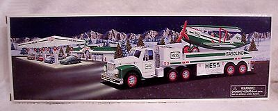 2002 Hess Toy Truck And Airplane New In Box