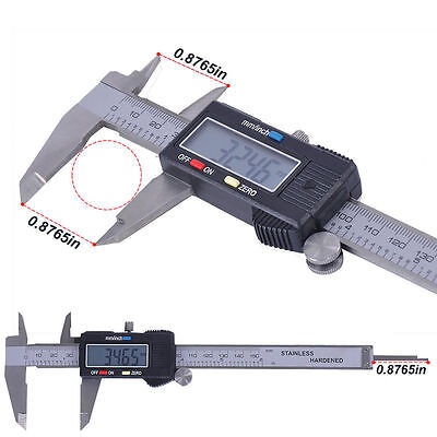 Digital Electronic Gauge Stainless Steel Vernier Caliper 150mm/6inch Micrometer^
