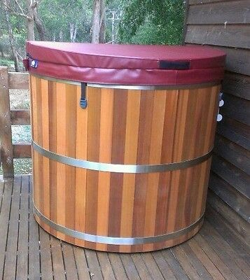 Western Red Cedar Hot Tub  4- 6 person