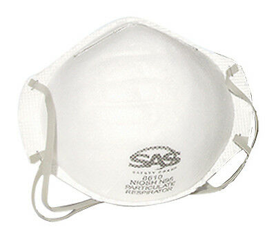 SAS 8610 DUST PARTICULATE N95 Mask Box of 20