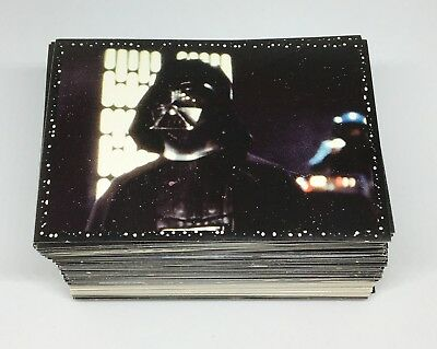 1996 PANINI Star Wars Complete Set 216 stickers + 2 Different Sealed Packets