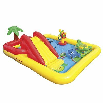 "Intex Ocean Inflatable Play Center 100"" X 77"" X 31"" for Ages 2+ 57454EP"