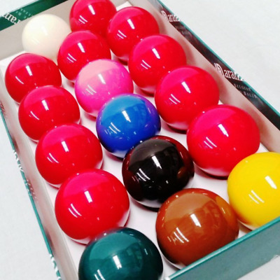 Aramith Snooker Balls for a UK Pool Table - 2 Inch Ball Size NEW