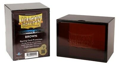 Dragon Shield - Gaming Box Brown - Karten Box