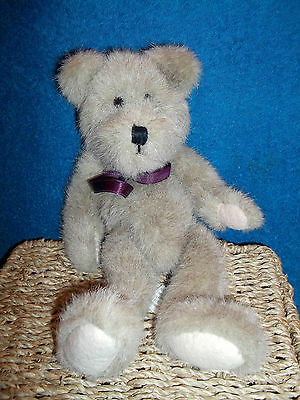 "Boyds Collection - Gordon 1985-1995 - 12"" Plush, Soft, Jointed Teddy Bear - Vgc"