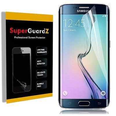 2X FULL COVER Clear Screen Protector Guard - Samsung Galaxy S7 Edge & 2 LED Pen