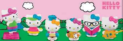 Hello Kitty Happy Meal 2013 Toys Set Of 6 SEALED Unopened MIP McDonald's America