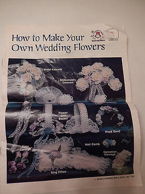 How to Make Your Own Wedding Flowers Instructions booklet