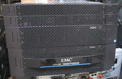 EMC VNX5300 10x600GB SAS 15k Unified DATA Mover 2 control stations complete TRPE