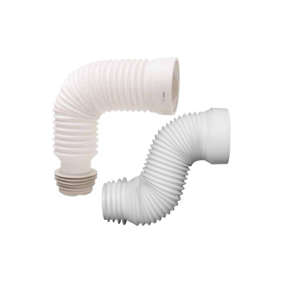"""Flexible Toilet WC Waste Flexi Pan Connector FOR STANDARD  PIPE 4"""""""