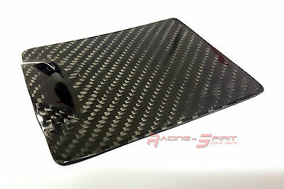 Rare Real Glossy Carbon Fiber Ashtray Lid Overlay Cover For 99-05 Lexus Is Xe10